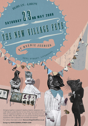 The New Village Fete Flyer